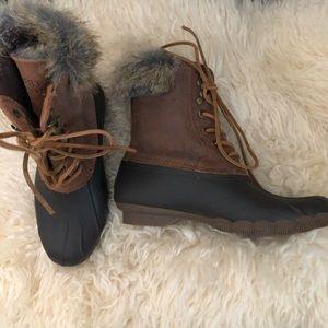 Sperry Women's Boots Sz 5